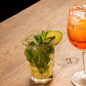 Cocktails mojito chez Trattino