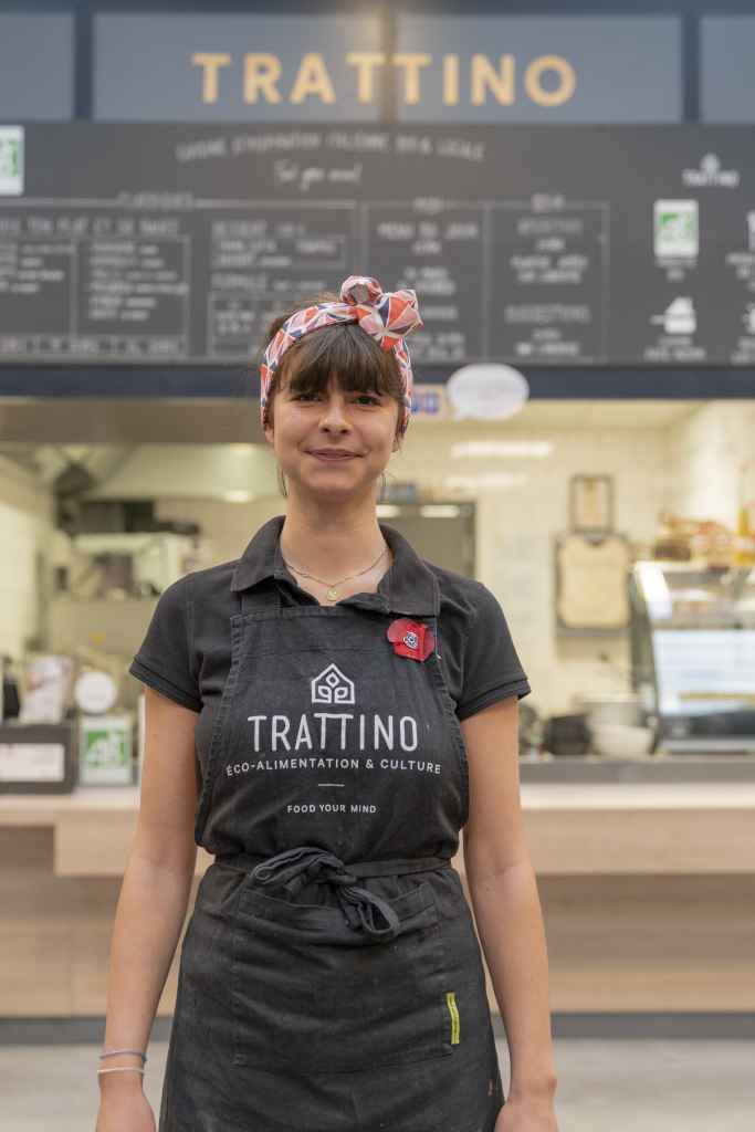 Adèle Tratti'team cuisine d'inspiration italienne bio et locale