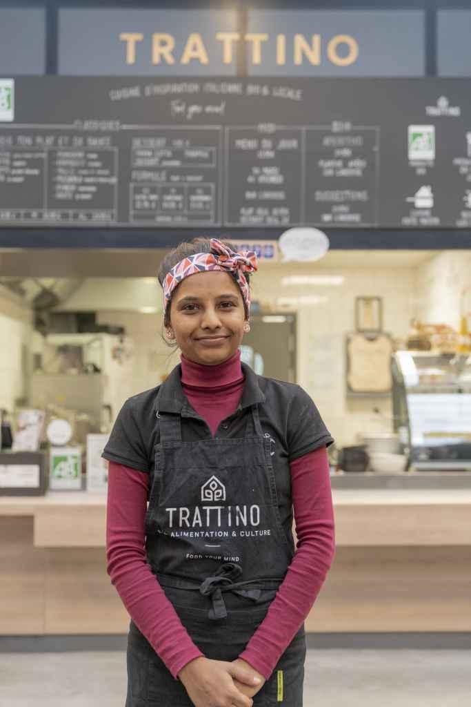 Bhargavi Tratti'team cuisine d'inspiration italienne bio et locale