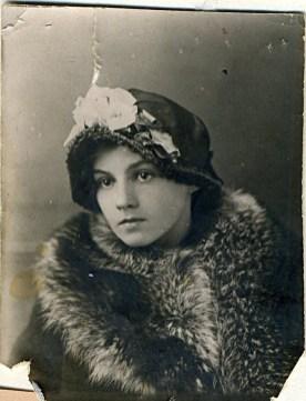 Вера Николаевна Ланде (мама). ~1919