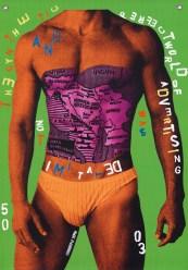 """Body builder"", 2003, Alex Flemming - Andrea Rehder Arte Contemporênea"