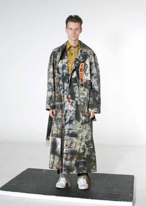 Finalista de moda: Antonia Sedakova (Rússia)