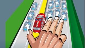 Rettungsgasse rechte Hand Regel