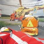 Ausstellung 45 Jahre Luftrettung aus Ulm