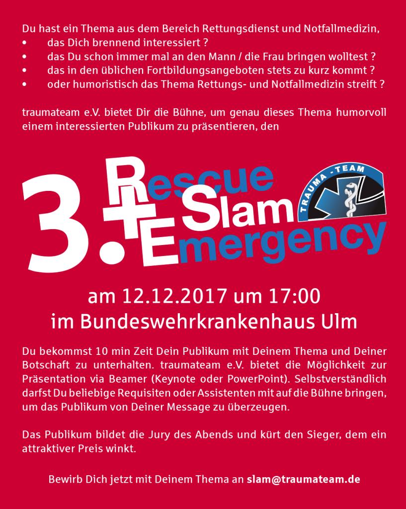 Rescue Slam 2017