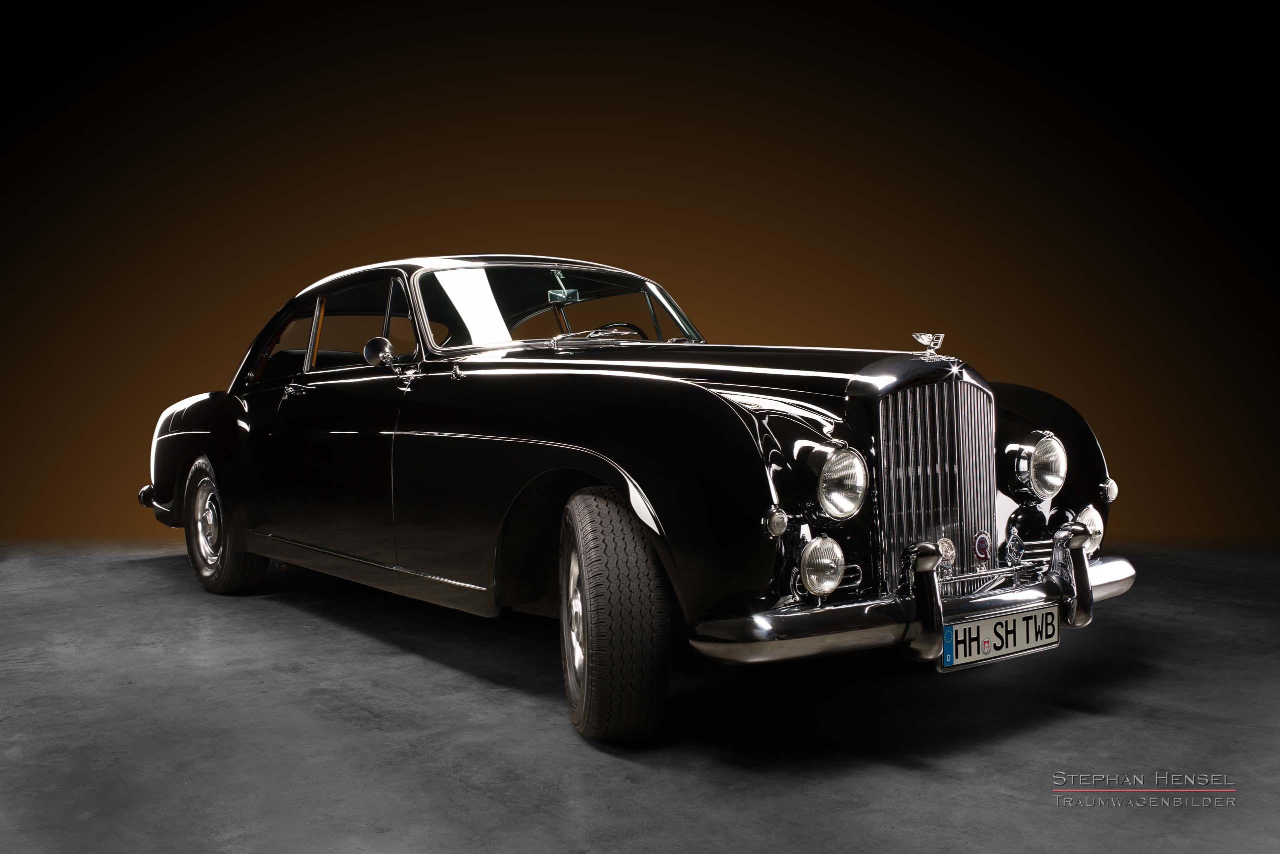 Bentley S1 Continental, 1956, Frontalansicht von rechts, Autofotograf, Hamburg, Automobilfotograf, Oldtimerfotograf, Oldtimerfotografie, Car Photography, Stephan Hensel