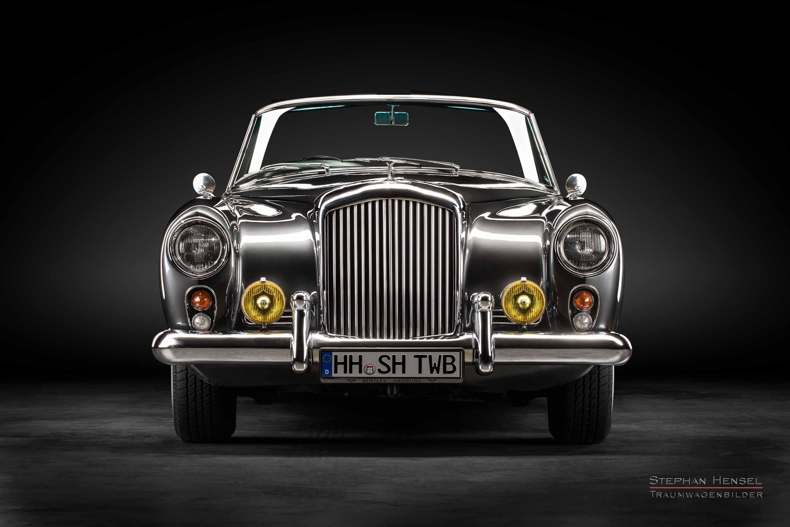 Bentley S2 Continental DHC, 1960, Frontalansicht, Autofotograf, Hamburg, Automobilfotograf, Oldtimerfotograf, Oldtimerfotografie, Car Photography, Stephan Hensel