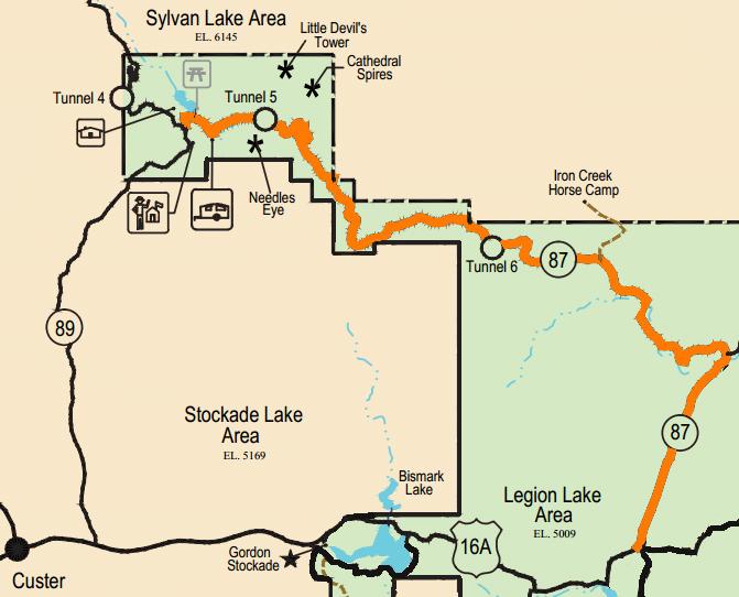 needles highway south dakota map Iron Mountain Road Archives Dantraun Com needles highway south dakota map
