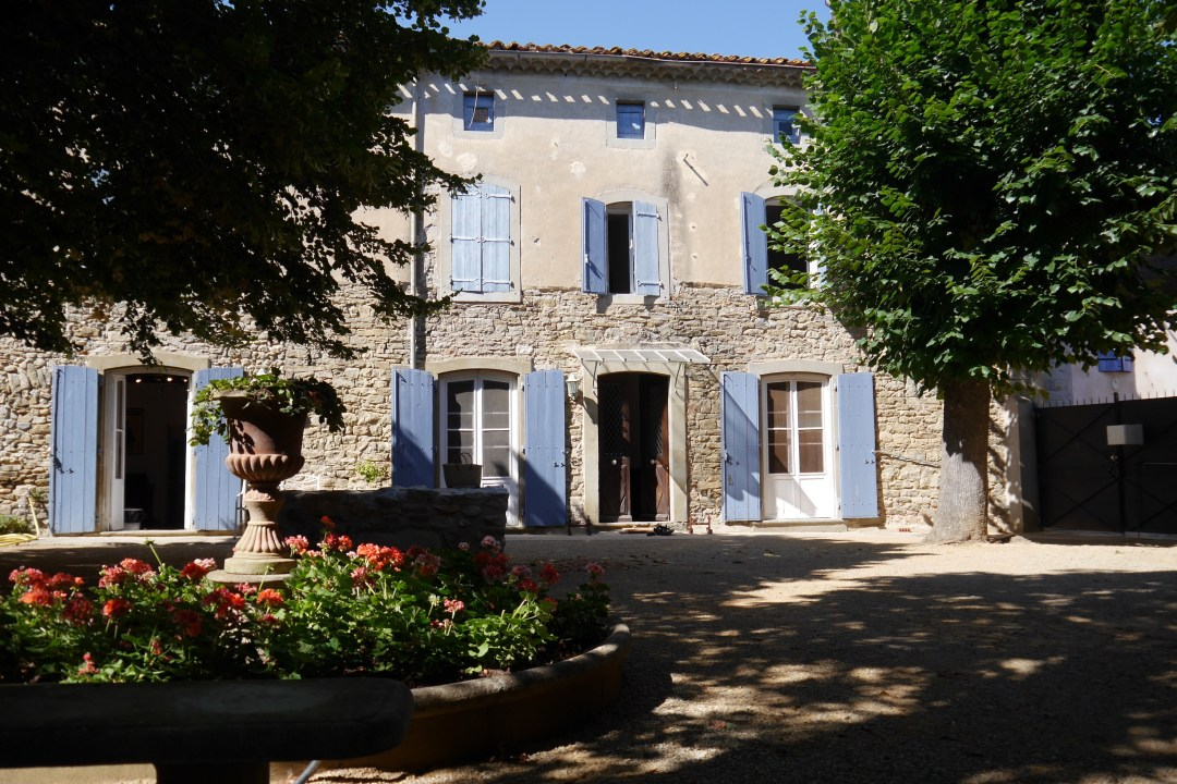 Front of home, Trausse, Languedoc, France