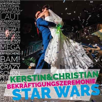 Kerstin und Christian || Star Wars Bekräftigungszeremonie in Mainz/Wiesbaden