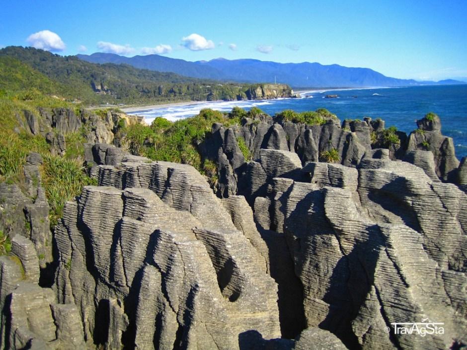 Pancake Rocks - New Zealand