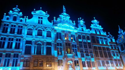 Grand Place by Night (2)t