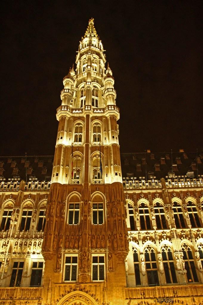 Grand Place by Nightt