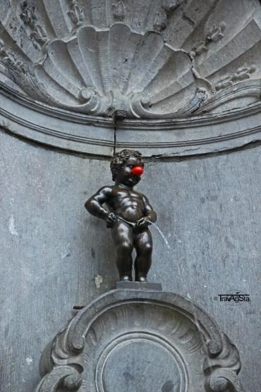 Mannekin Pis, Brussels, Belgium