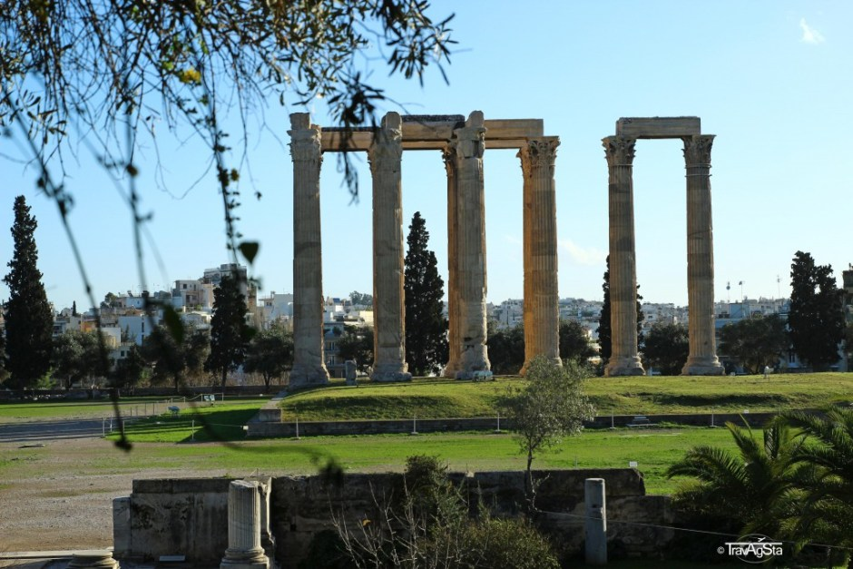 Olympieion, Athens, Greece