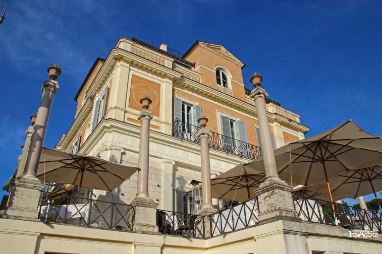 Rome, Pincio, Casa Medici