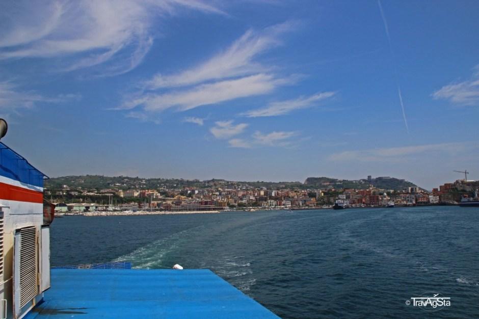 Pozzuoli, Ferry to Procida, Italy