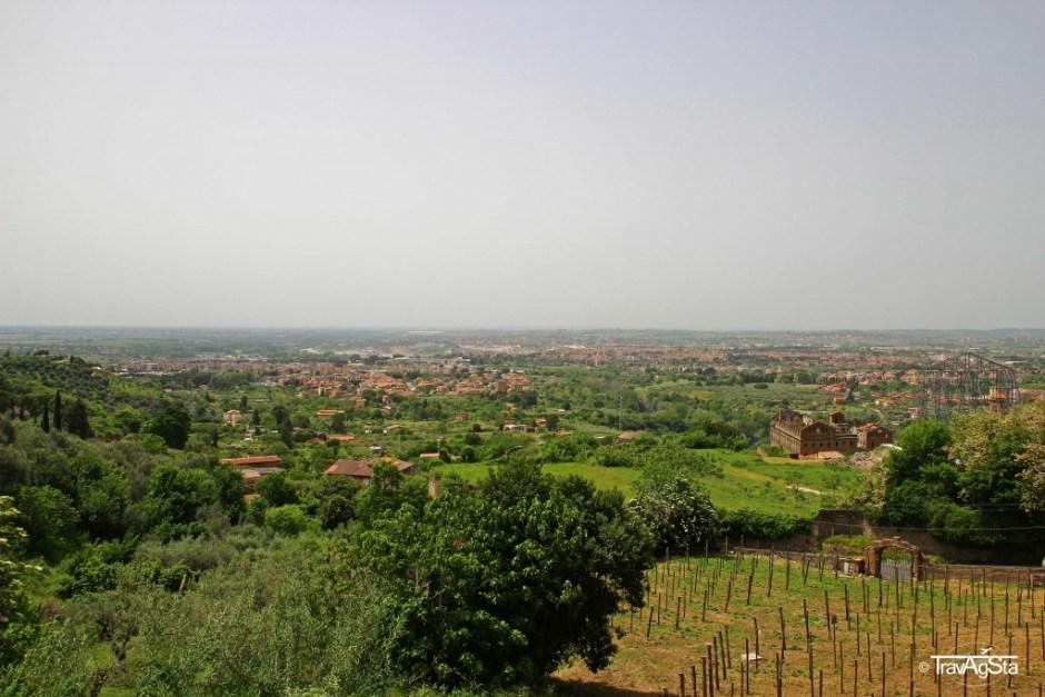 View from Villa d'Este, Tivoli, Italy