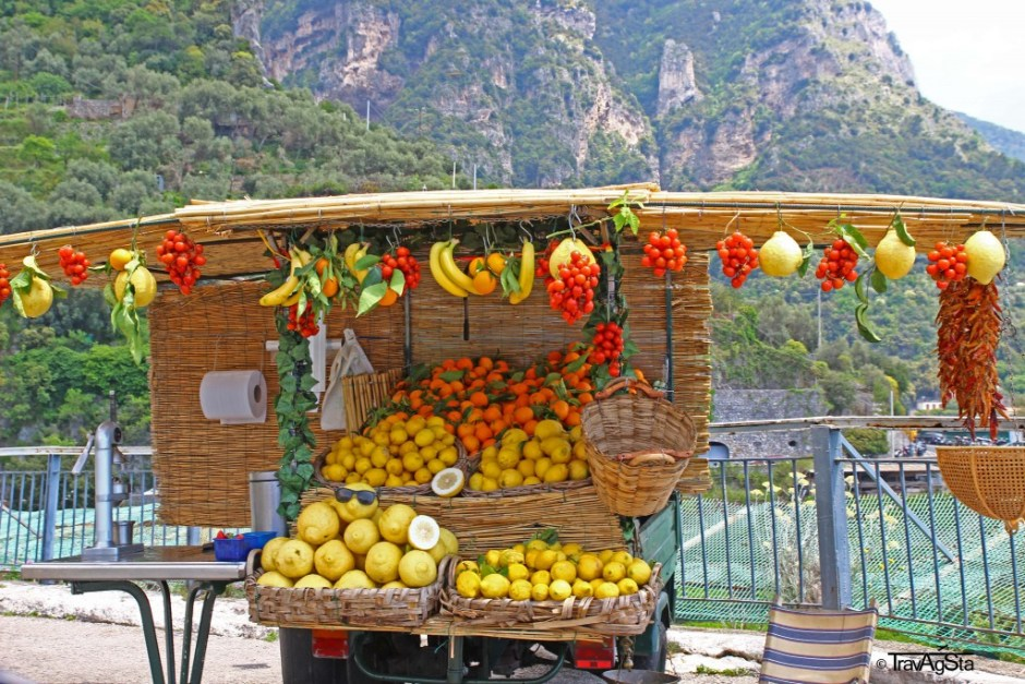 Fruits of the Amalfi Coast, Italy