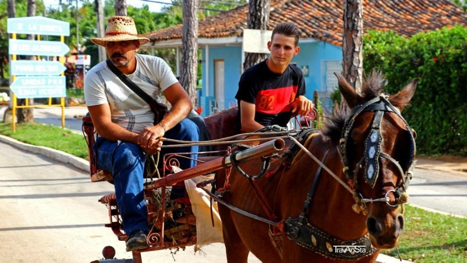 Landwirtschaftliches Gefährt in Vinales, Cuba