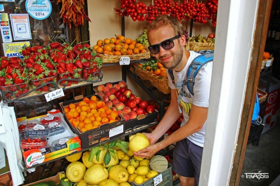 Lemons, Positano, Amalfi Coast, Italy