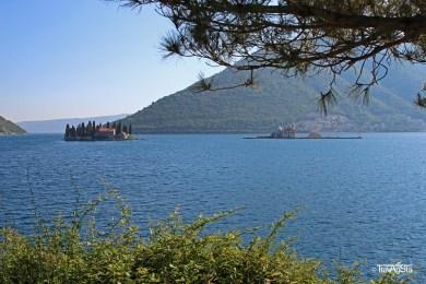 Bay of Kotor, Montenegro; Sveti Dorde and Gospa od Skrpjela