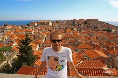 Dubrovnik, Croatia; City Wall