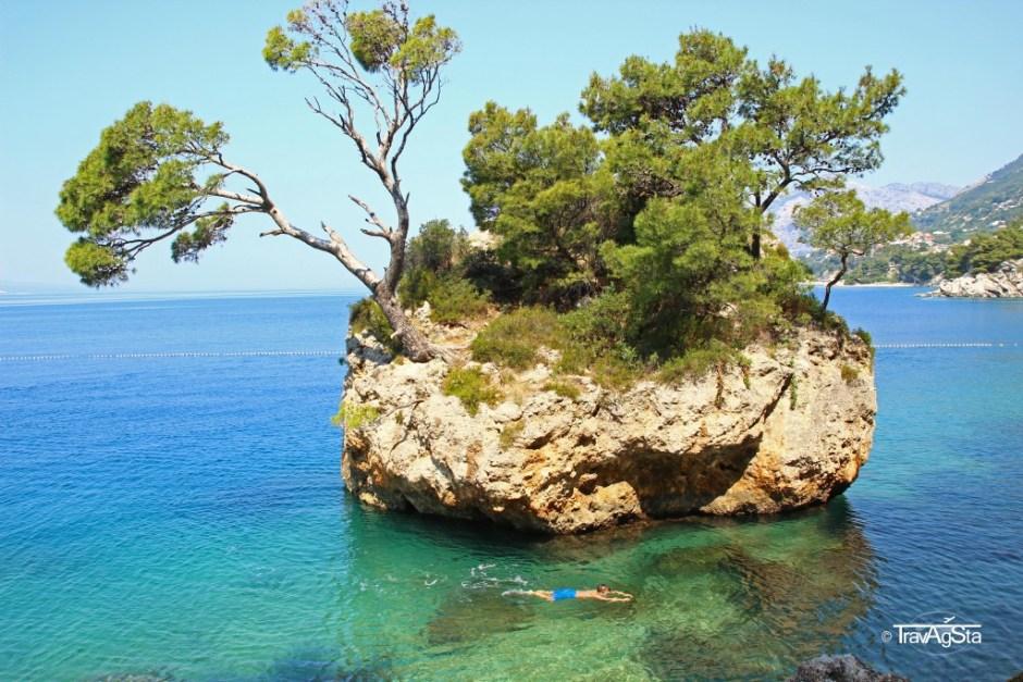 Brela Rock, Dalmatia, Croatia