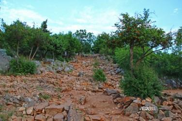 Medugorje, way up apparation hill
