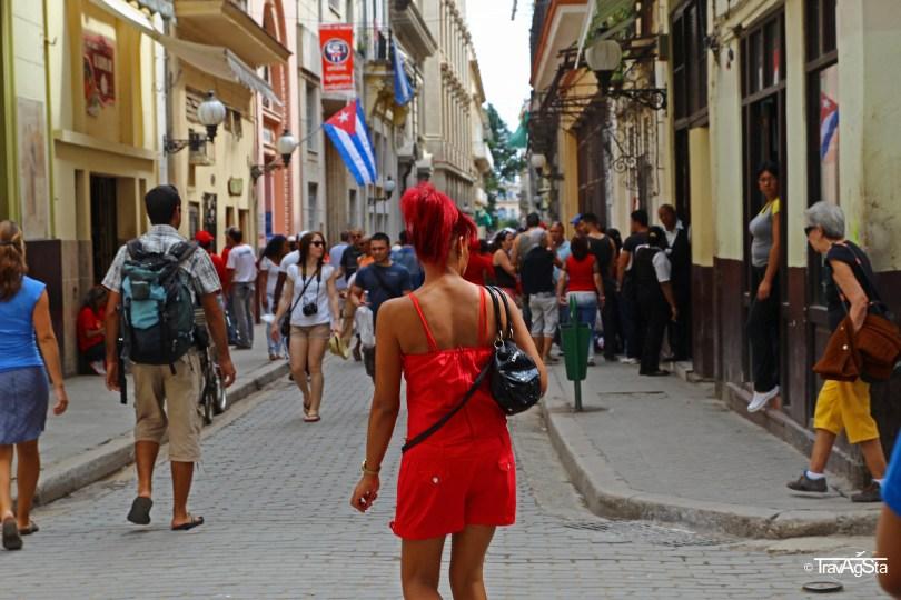 Calle Obispo, Havana, Cuba