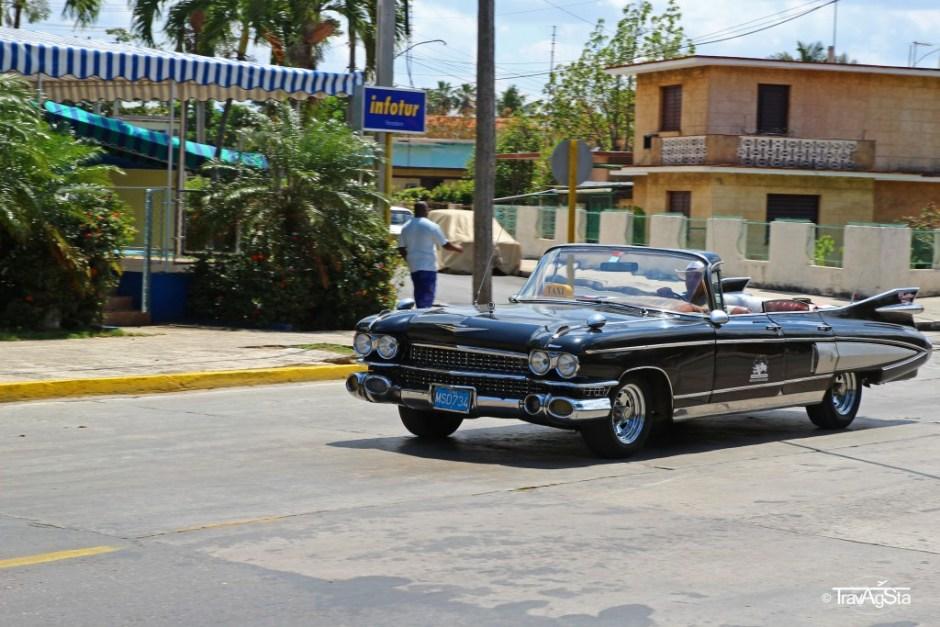 Vintage car in Varadero, Cuba