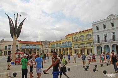 Plaza Vieja, Havana, Cuba