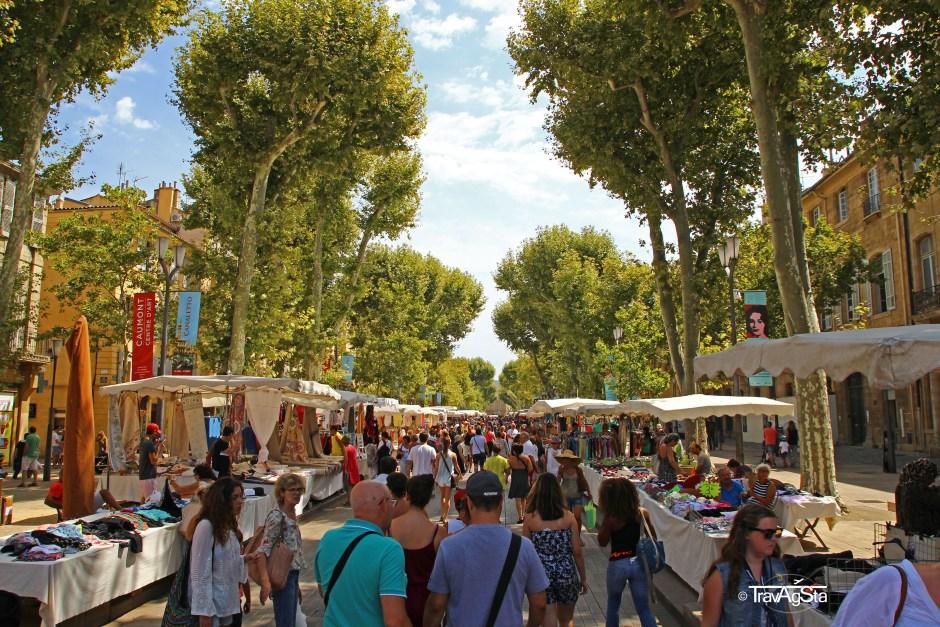 Cours Mirabeau, Aix-en-Provence, France