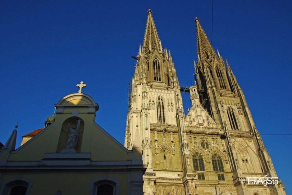 Cathedral, Regensburg, Bavaria, Germany