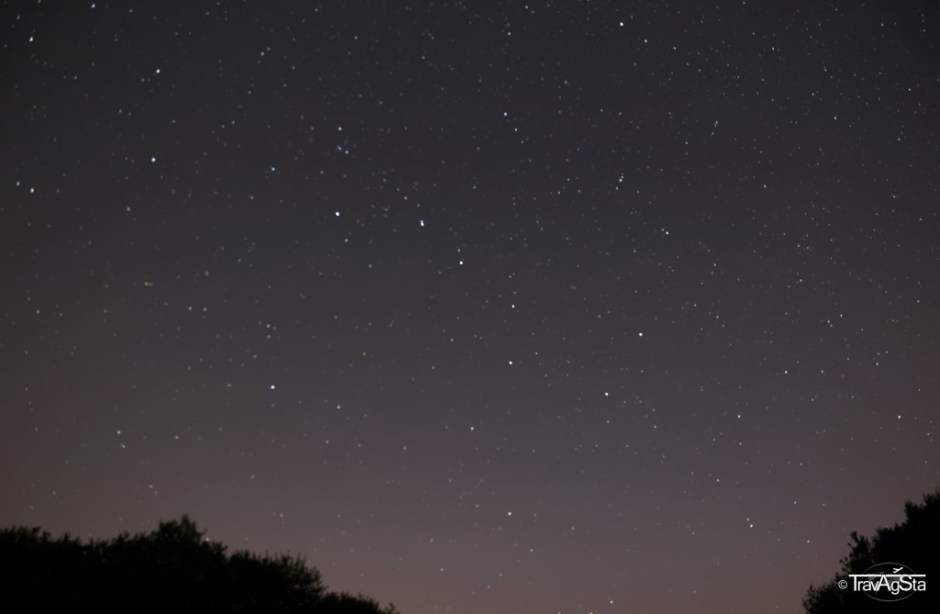 Starry sky in Taunus mountains