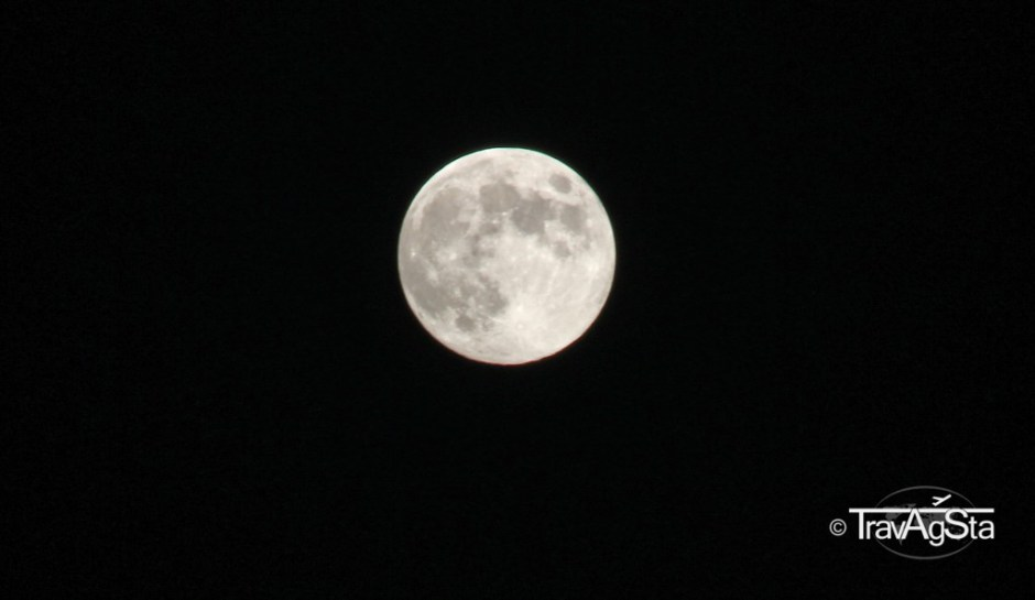 Full moon on Sardinia