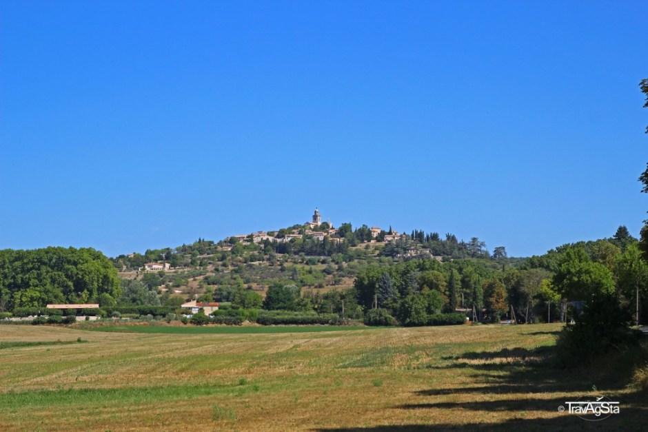 Reillane, Provence, France