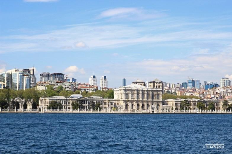 Bosporus Cruise, Dolmabahce Palace, Istanbul, Turkey