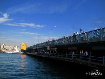 Galata Bridge, Istanbul, Turkey