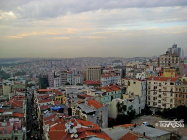 View from Galata Tower, Istanbul, Turkey