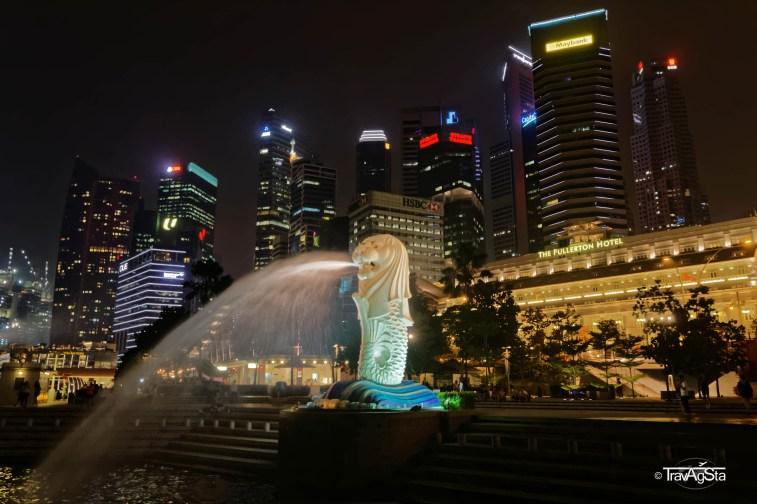 Merlion, Marina Bay, Singapore