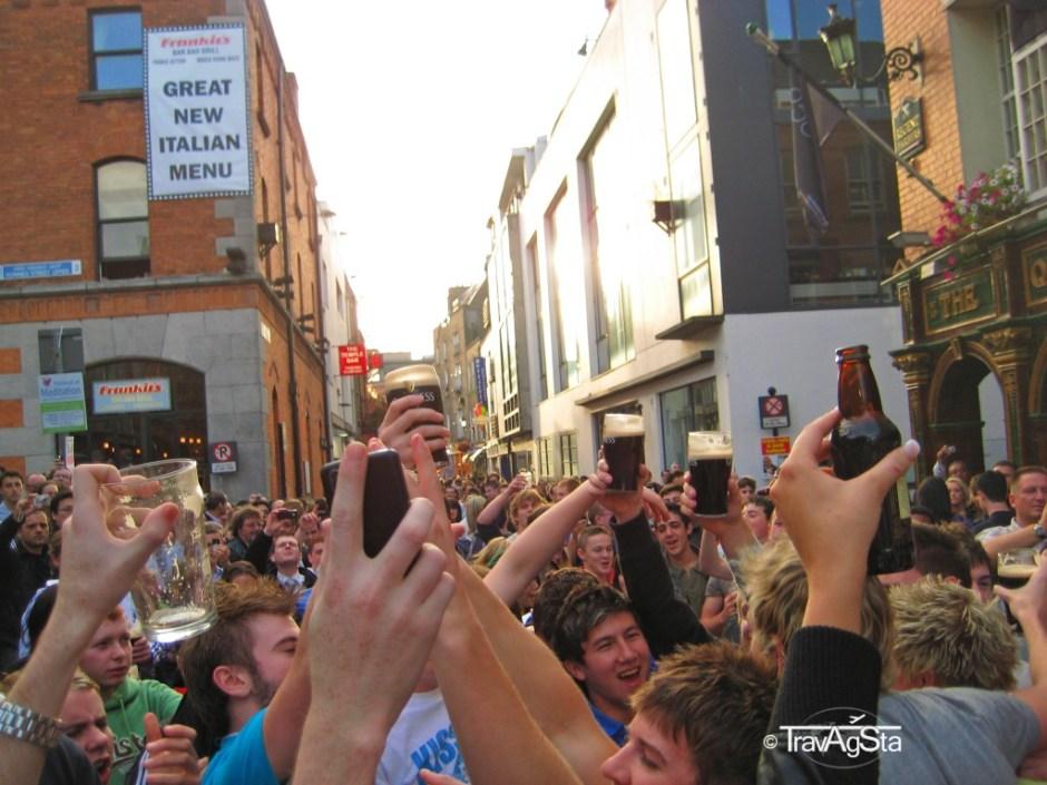 Slainte, Cheers, Dublin, Ireland