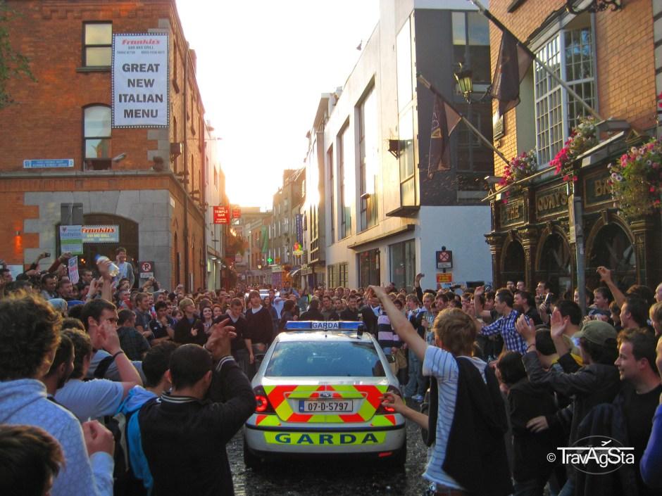 Garda, Police, Dublin, Ireland