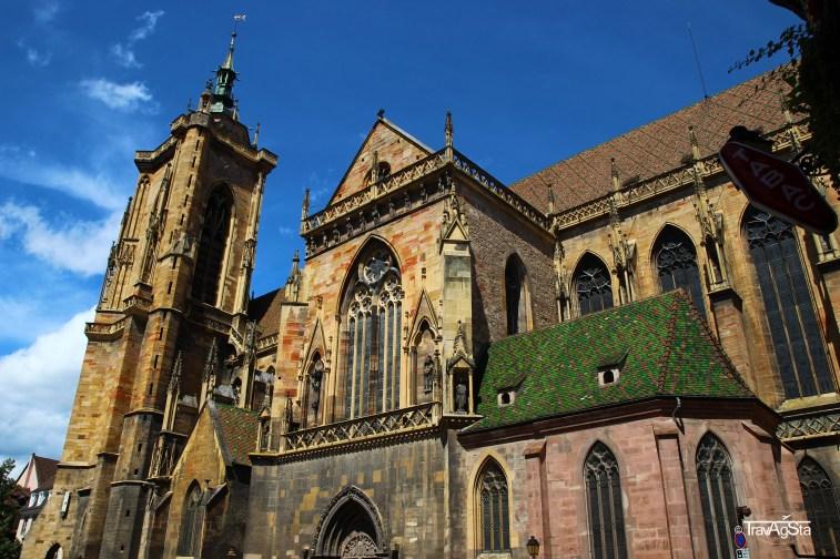 Church St. Martin, Colmar, Alsace, France