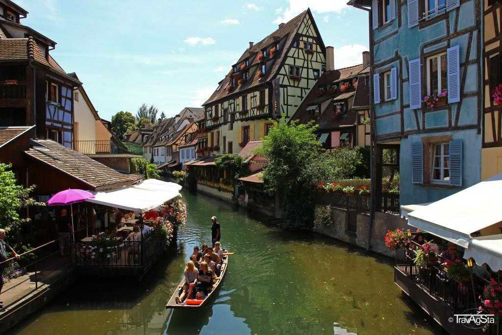Petit Venise, Colmar, Alsace, France