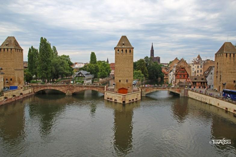 Ponts Couverts, Strasbourg, Alsace, France