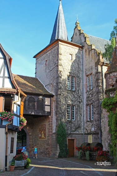 Schloss Schwendi, Kientzheim. Alsace, France