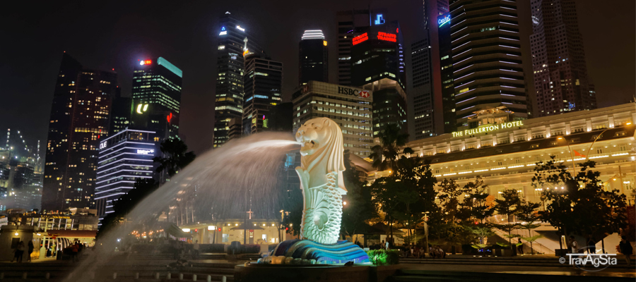 Stopover in Singapore – Perfect for the first impression!