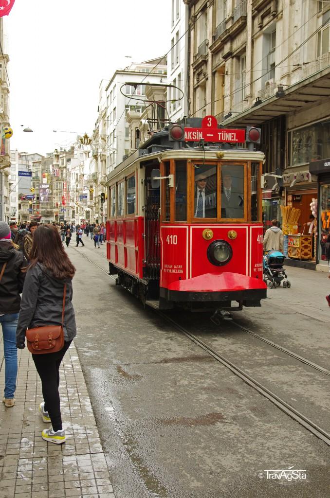 Istiklal Caddessi, Beyoglu, Istanbul, Turkey
