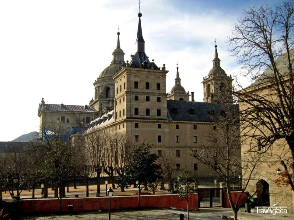 Real Sitio de San Lorenzo de El Escorial, Esl Escorial, Madrid, Spain